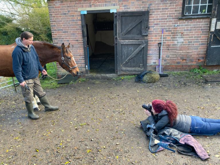 Horse Portrait Photographer Emma Ziff_Behind the scenes_02
