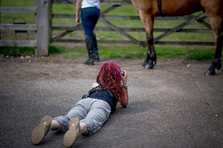 Horse Portrait Photographer Emma Ziff_Behind the scenes_06