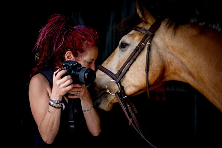 Horse Portrait Photographer Emma Ziff_Behind the scenes_08